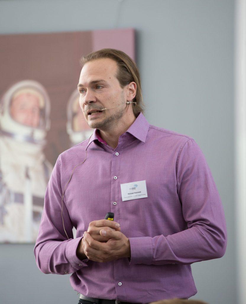 Michael Reichold, wissenschaftlicher Mitarbeiter am Lehrstuhl für Medizinische Informatik an der Friedrich-Alexander Universität Erlangen-Nürnberg