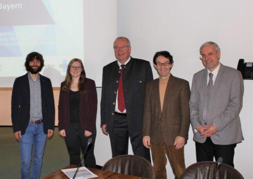 Neue Forschungspartner nach Vortrag in Cham