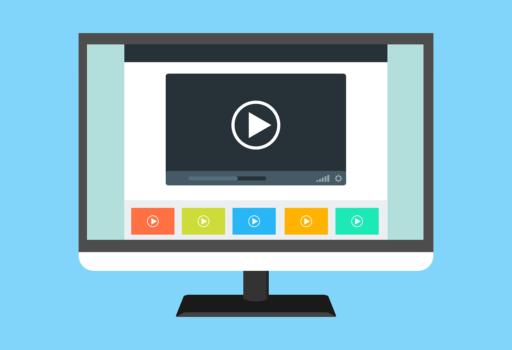Symbolbild für Videoplayer am PC