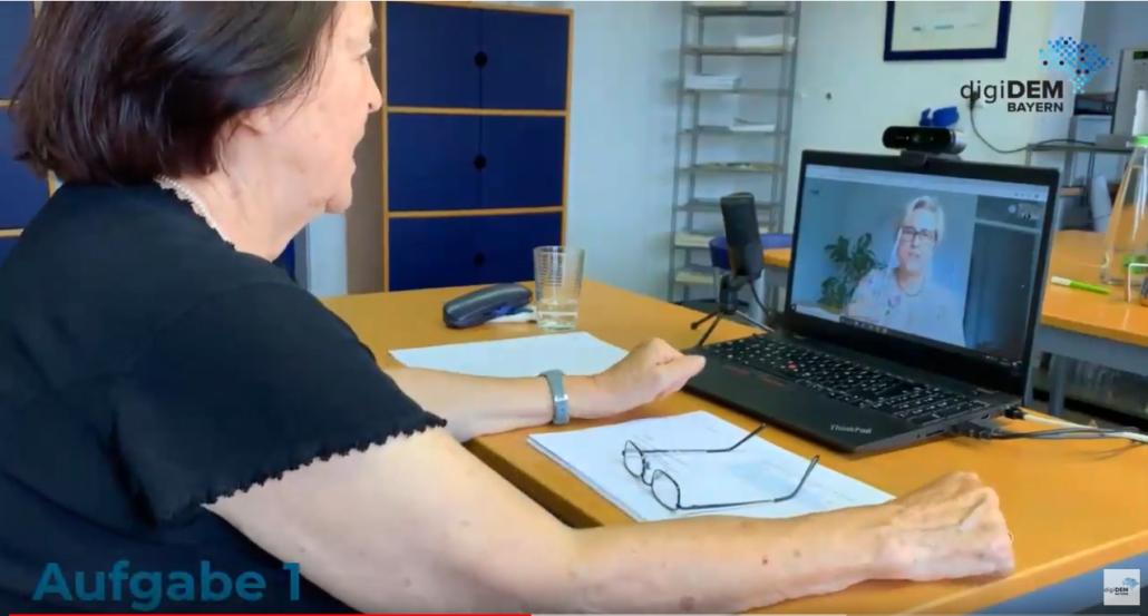 Virtuelles Screening für digiDEM Bayern