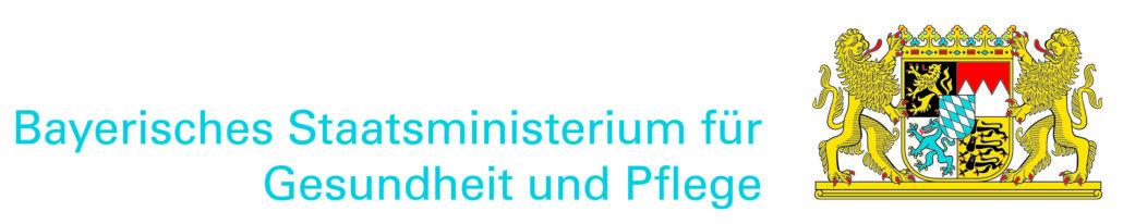 Logo: Bayerisches Staatsministerium für Gesundheit und Pflege