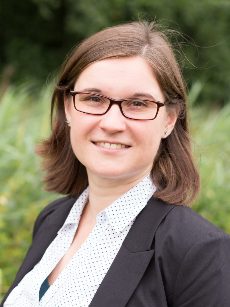 digiDEM Bayern-Mitarbeiterin Linda Karrer