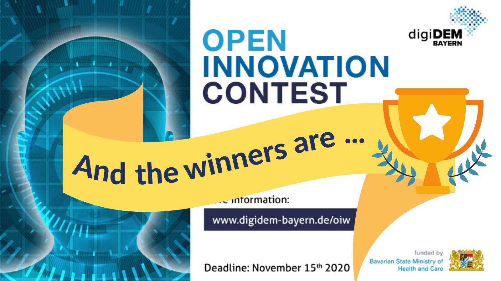 digiDEM Bayern zeichnet Gewinner des Open Innovation Wettbewerbs aus