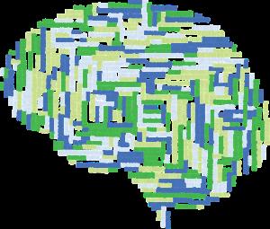 Symbolgrafik eines Gehirns