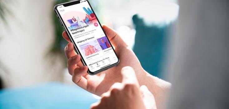 Digitales Angebot: Nui App