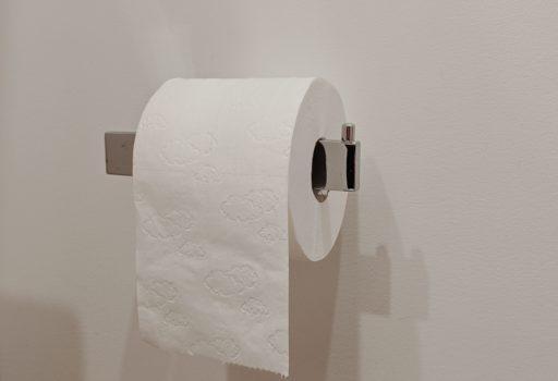Rolle Toilettenpapier