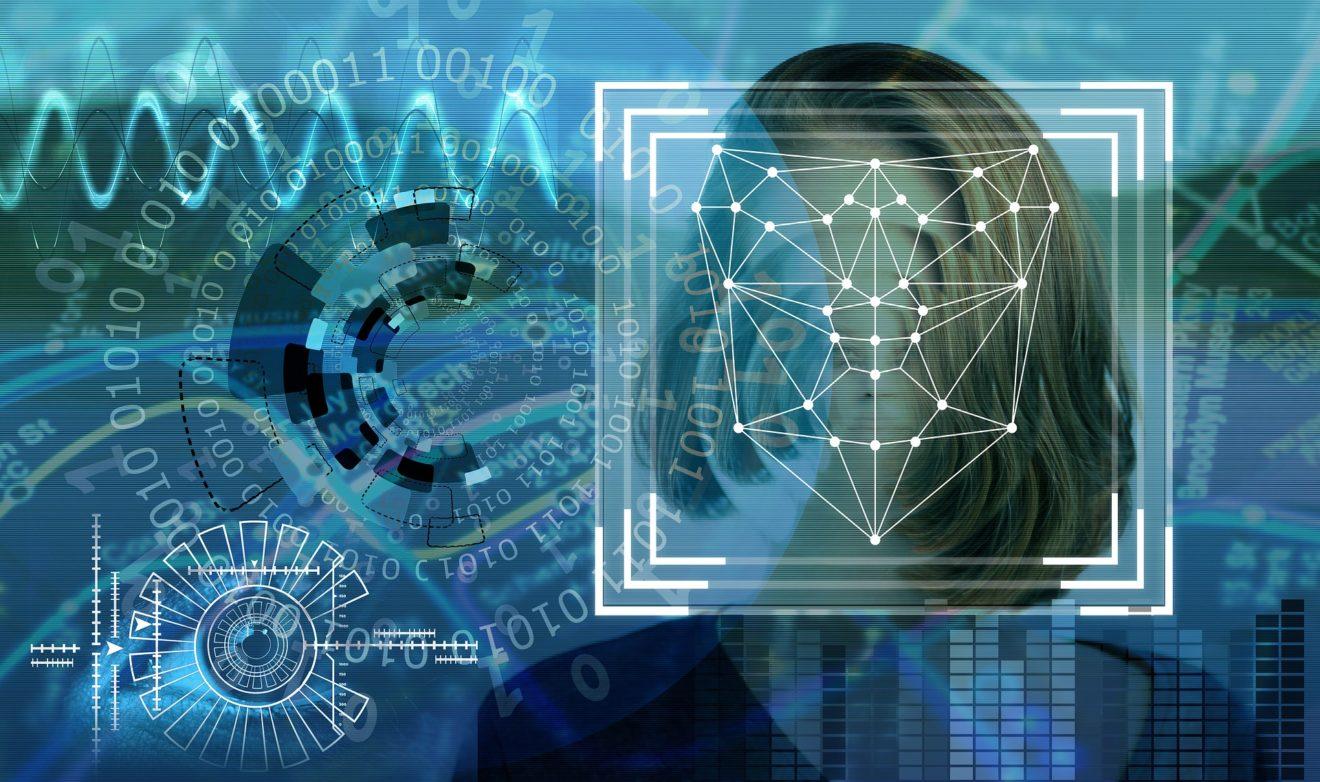 Symbolbild für automatische Gesichtserkennung