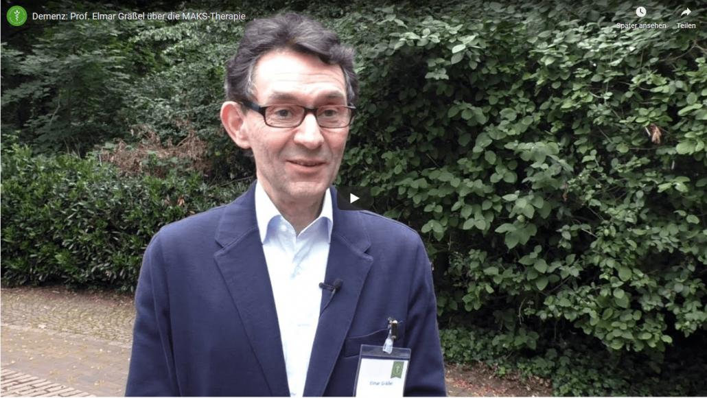 Professor Elmar Gräßel im Interview mit der Carstens Stiftung